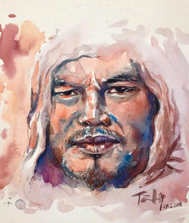 Trào lưu vẽ tranh chân dung Trần Lập thay lời từ biệt ảnh 4