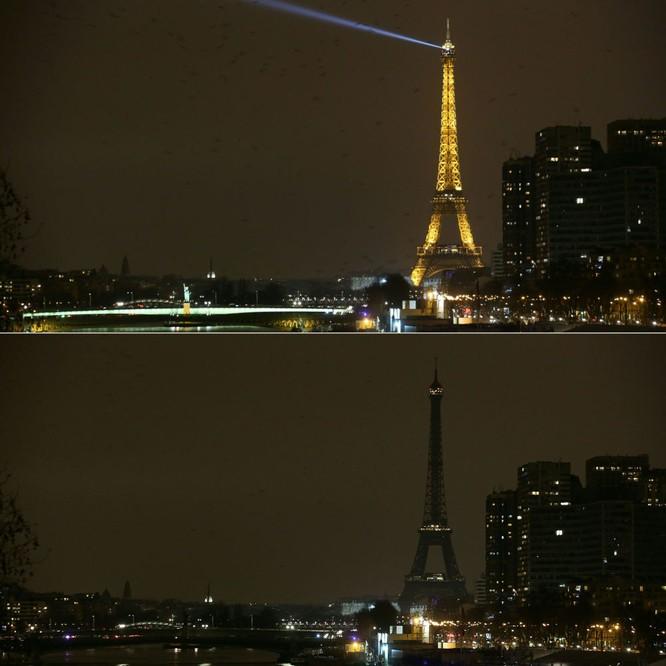 Tháp Eiffel trong Giờ Trái Đất