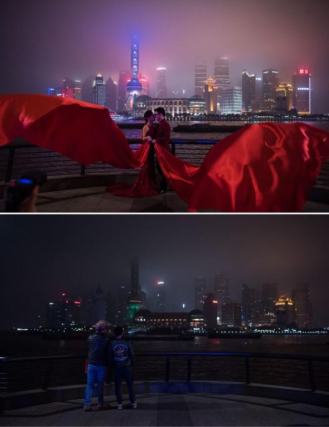 Quang cảnh Thượng Hải trong Giờ Trái Đất