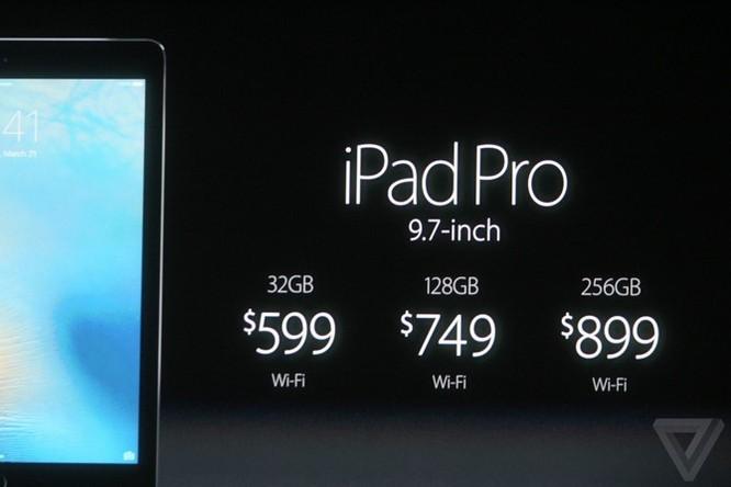 Apple: Ra mắt iPad Pro 9.7 inch, thêm phiên bản 256GB ảnh 14