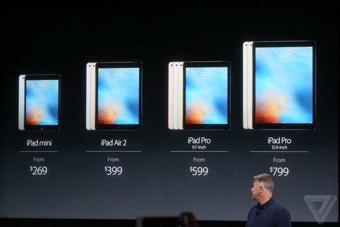Apple: Ra mắt iPad Pro 9.7 inch, thêm phiên bản 256GB ảnh 15