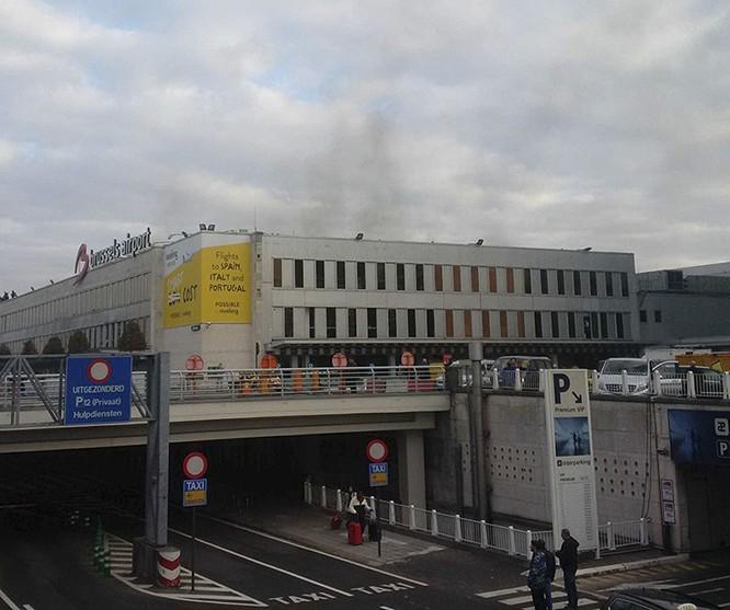 Những hình ảnh đầu tiên về cuộc khủng bố tại Brussels ảnh 8
