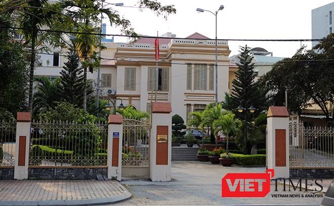 Trụ sở Uỷ ban MTTQ Việt Nam TP Đà Nẵng sẽ nhường chỗ cho việc mở rộng trụ ở Thành ủy