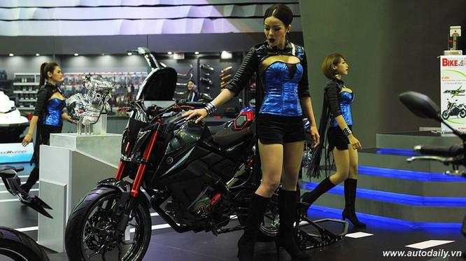 """Mãn nhãn với dàn mẫu """"nóng bỏng"""" tại Bangkok Motorshow 2016 ảnh 17"""