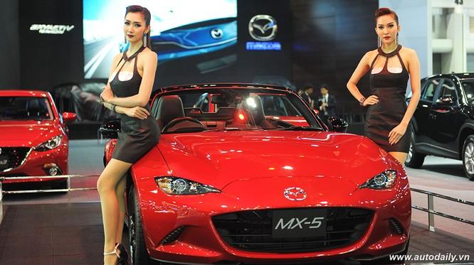 """Mãn nhãn với dàn mẫu """"nóng bỏng"""" tại Bangkok Motorshow 2016 ảnh 10"""