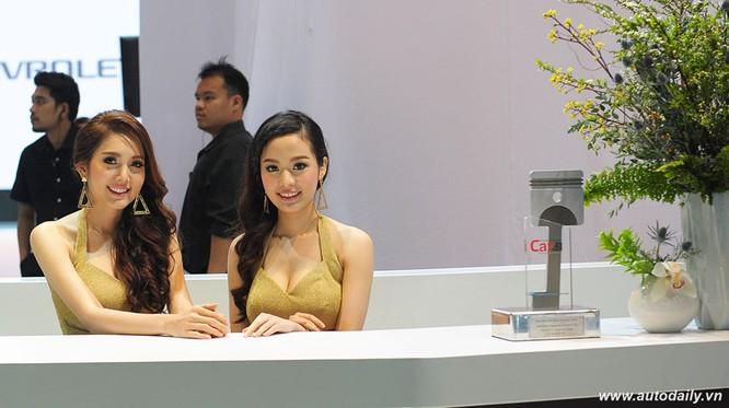 """Mãn nhãn với dàn mẫu """"nóng bỏng"""" tại Bangkok Motorshow 2016 ảnh 8"""