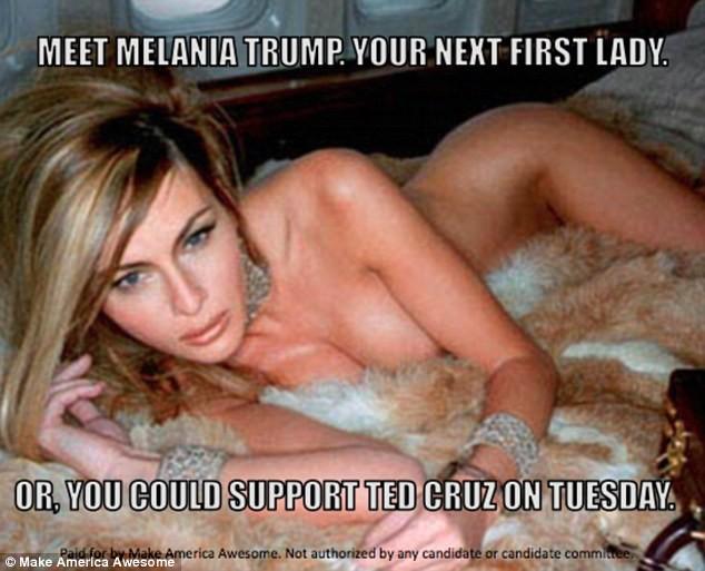 Tỷ phú Trump điêu đứng vì ảnh khỏa thân của vợ ảnh 1