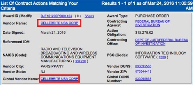 FBI trả hơn 15.000 USD để mở khóa iPhone 5c ảnh 1