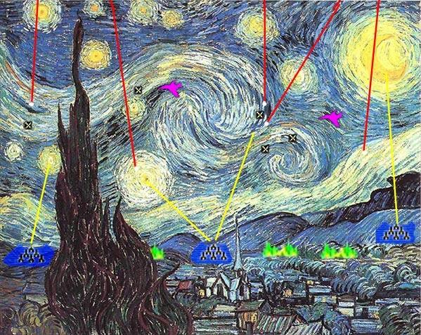 Đau bụng cười vì những họa phẩm nổi tiếng bị chế chủ đề game ảnh 18