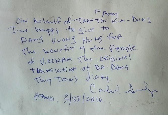 Hành trình ly kỳ của cựu binh Mỹ từng giữ Nhật ký Đặng Thùy Trâm hơn 20 năm ảnh 5