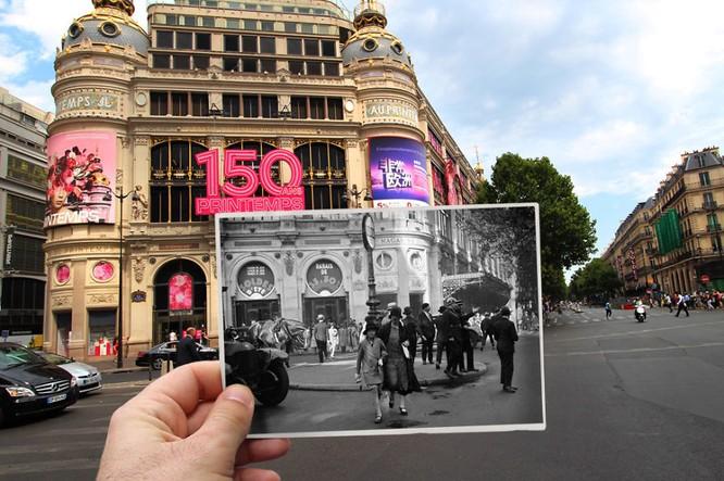 Paris xưa và nay qua những bức ảnh độc nhất ảnh 9