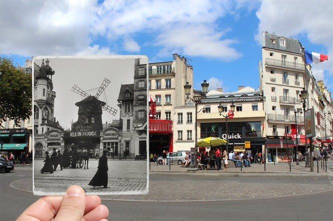 Paris xưa và nay qua những bức ảnh độc nhất ảnh 10