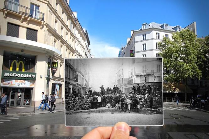 Paris xưa và nay qua những bức ảnh độc nhất ảnh 12