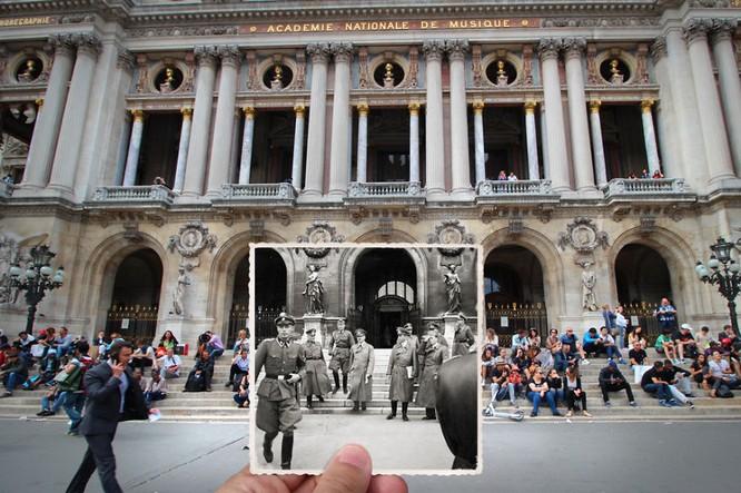 Paris xưa và nay qua những bức ảnh độc nhất ảnh 1
