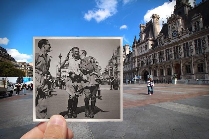 Paris xưa và nay qua những bức ảnh độc nhất ảnh 2