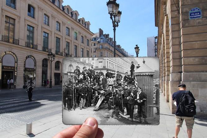 Paris xưa và nay qua những bức ảnh độc nhất ảnh 3