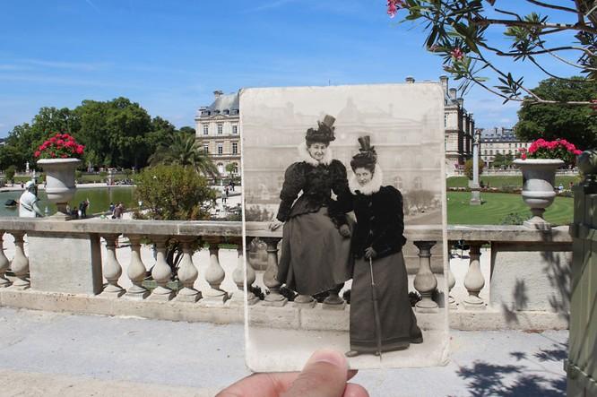 Paris xưa và nay qua những bức ảnh độc nhất ảnh 4