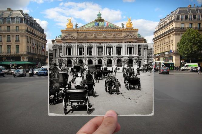 Paris xưa và nay qua những bức ảnh độc nhất ảnh 5