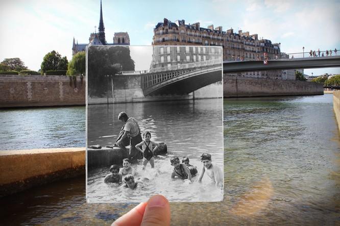 Paris xưa và nay qua những bức ảnh độc nhất ảnh 6