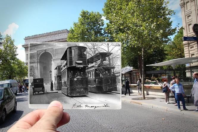 Paris xưa và nay qua những bức ảnh độc nhất ảnh 7