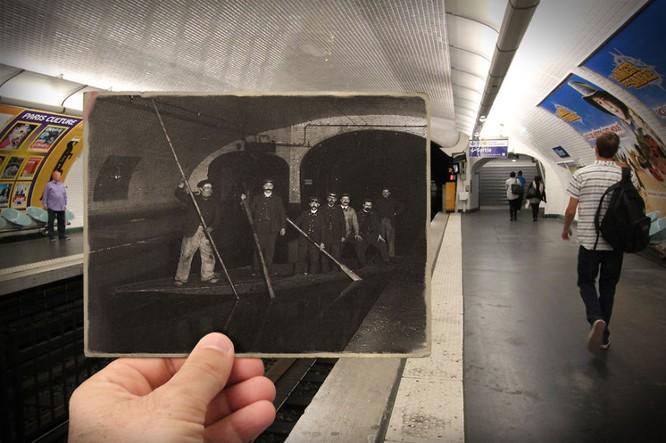 Paris xưa và nay qua những bức ảnh độc nhất ảnh 8