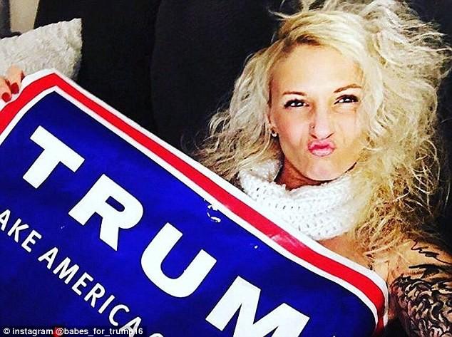 """Dàn hotgirl khoe thân gợi cảm ủng hộ """"tổng thống"""" Trump ảnh 11"""