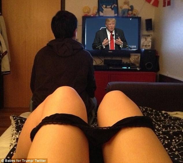 """Dàn hotgirl khoe thân gợi cảm ủng hộ """"tổng thống"""" Trump ảnh 5"""