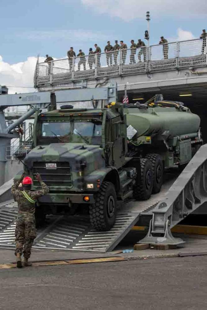 Mỹ điều dàn vũ khí khủng tập trận với Philippines ở Biển Đông ảnh 2