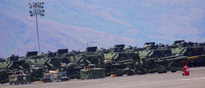 Mỹ điều dàn vũ khí khủng tập trận với Philippines ở Biển Đông ảnh 8