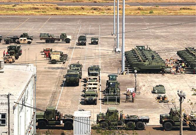 Mỹ điều dàn vũ khí khủng tập trận với Philippines ở Biển Đông ảnh 3