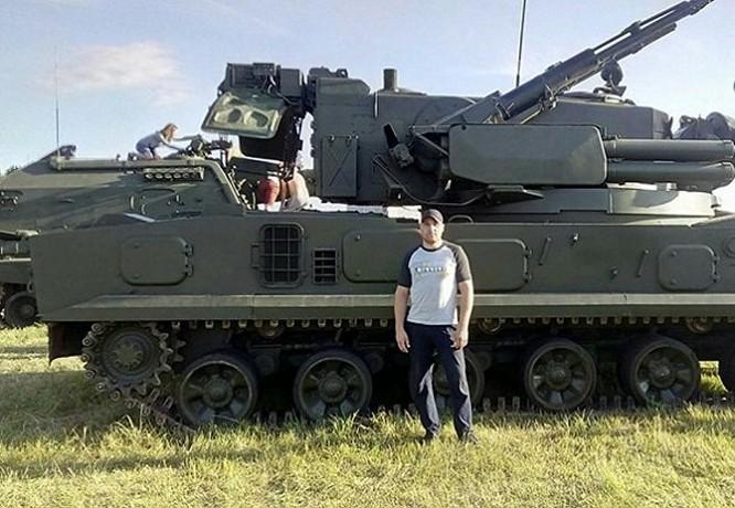 Vadim Tumakov (ảnh facebook)