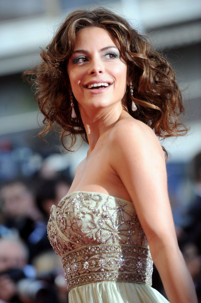Nụ cười của nữ diễn viên người Mỹ Maria Menounos được cho là quyến rũ nhất.