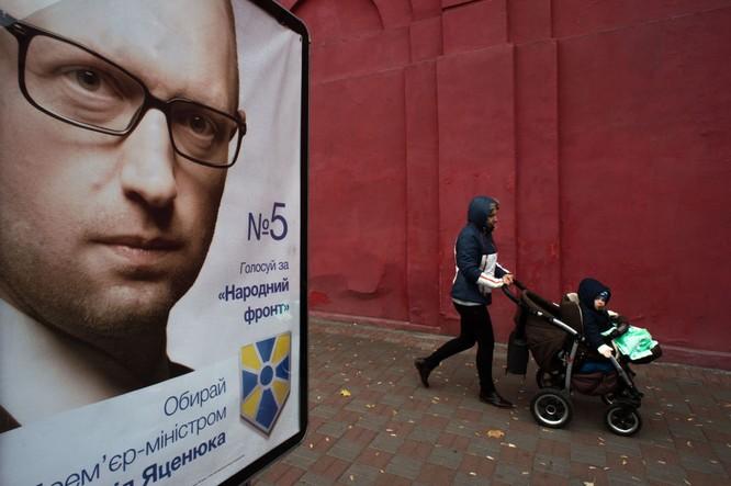 10 bức ảnh nhật ký con đường chính trị của Cựu Thủ tướng Ukraine Yatsenyuk ảnh 7