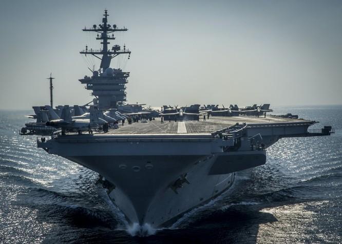 20 bức ảnh bằng vạn lời nói về uy lực của tàu sân bay Mỹ ảnh 11