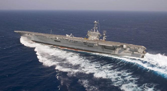 20 bức ảnh bằng vạn lời nói về uy lực của tàu sân bay Mỹ ảnh 16