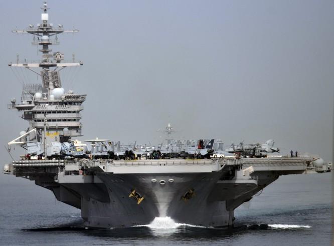 20 bức ảnh bằng vạn lời nói về uy lực của tàu sân bay Mỹ ảnh 3
