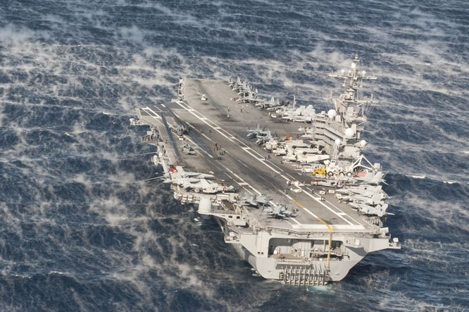 20 bức ảnh bằng vạn lời nói về uy lực của tàu sân bay Mỹ ảnh 6