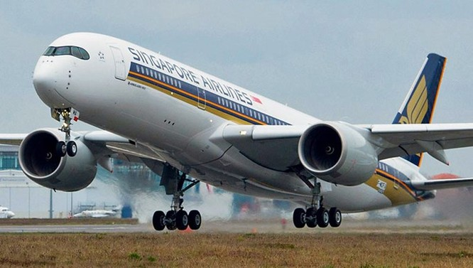 Bao nhiêu hãng đang dùng máy bay A350-900 ảnh 1