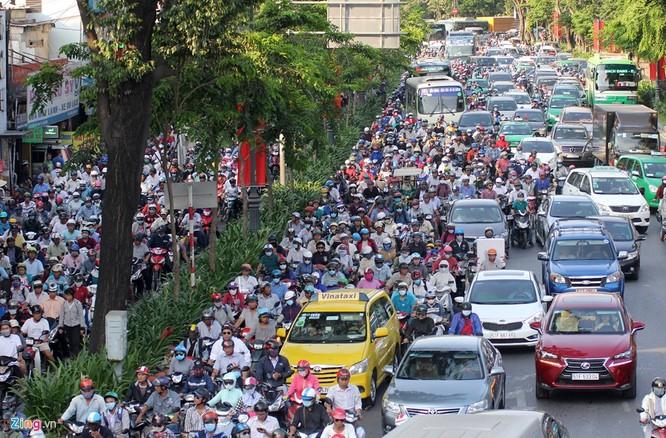 Tp.HCM: Nhiều người chạy bộ tới sân bay Tân Sơn Nhất ảnh 1