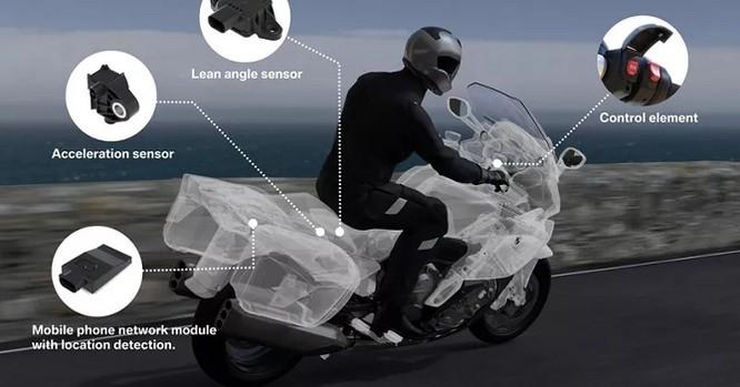 BMW trang bị hệ thống SOS cho xe máy ảnh 1