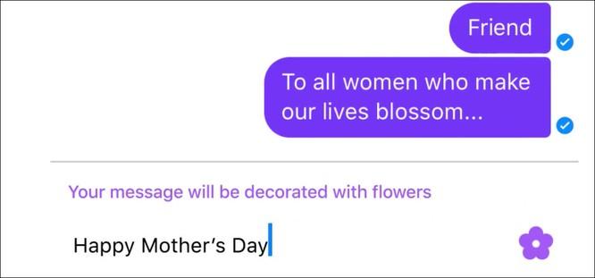 Video: Facebook thêm bông hoa mừng 'Ngày của Mẹ' ảnh 1