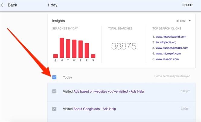 Lục tìm lịch sử Google lưu trữ về bạn và cách xóa ảnh 2