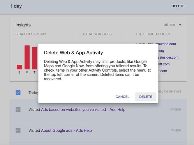 Lục tìm lịch sử Google lưu trữ về bạn và cách xóa ảnh 3