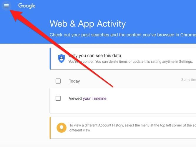 Lục tìm lịch sử Google lưu trữ về bạn và cách xóa ảnh 4