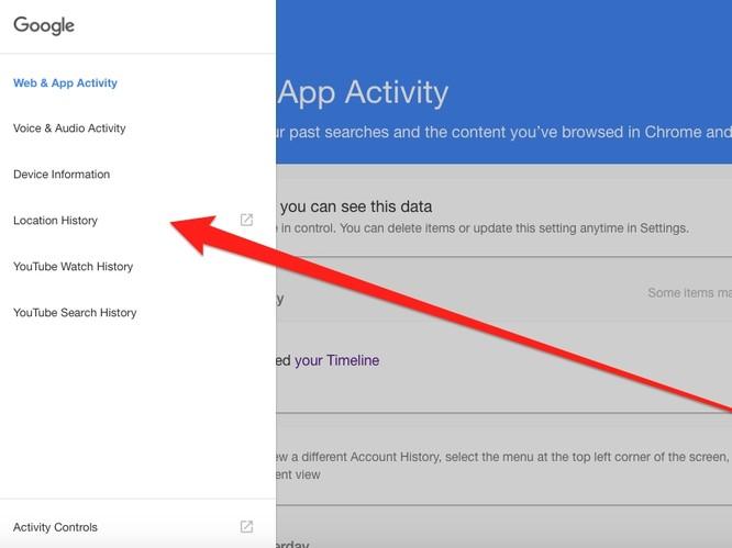 Lục tìm lịch sử Google lưu trữ về bạn và cách xóa ảnh 5