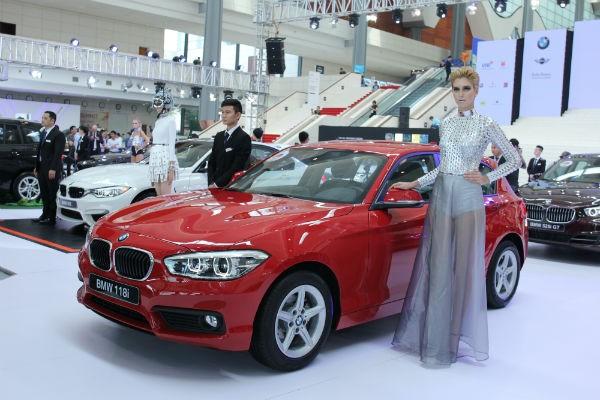 Rolls-Royce Ghost và BMW i8 bỗng nhiên xuất hiện tại BMW World Vietnam 2016 ảnh 8