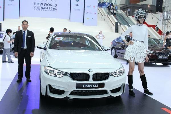 Rolls-Royce Ghost và BMW i8 bỗng nhiên xuất hiện tại BMW World Vietnam 2016 ảnh 5
