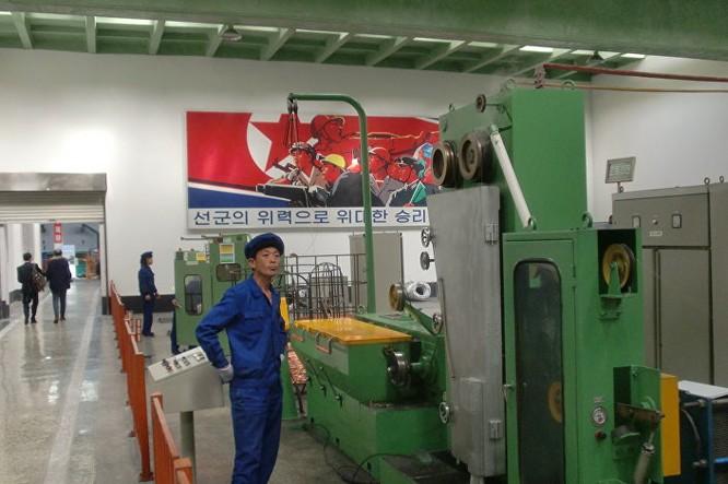 Cuộc sống ở Triều Tiên những ngày Đại hội đảng ảnh 3
