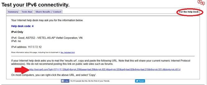 Kiểm tra máy đã sẵn sàng IPv6 với 3 công cụ đơn giản ảnh 3