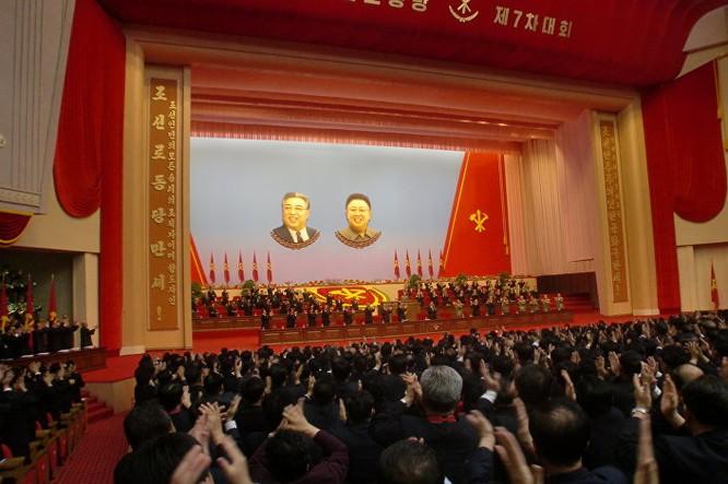 Triều Tiên: Không khí sôi động ngày bầu Chủ tịch Đảng Lao động ảnh 2